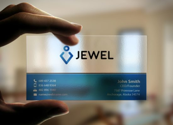 transparent business cards printing in delhi